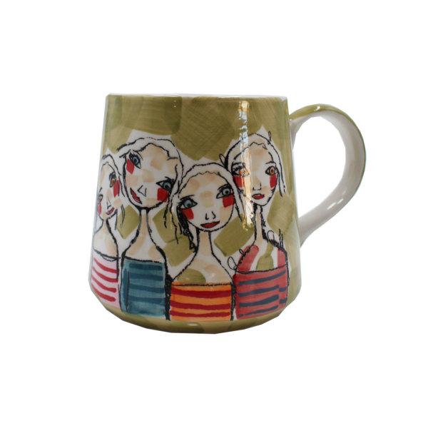 Art de Olivia - Mug (Abstract Friends)