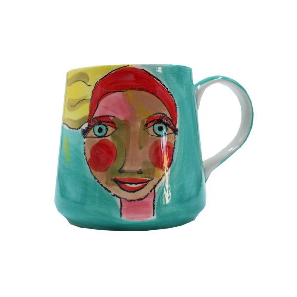 Art de Olivia - Mug (Rosey Cheeked Lady)