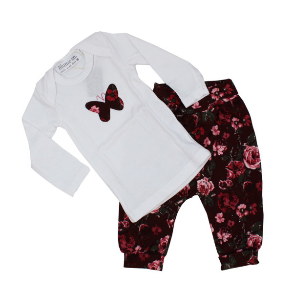 Butterfly Baby Two Piece (0-3 Months)