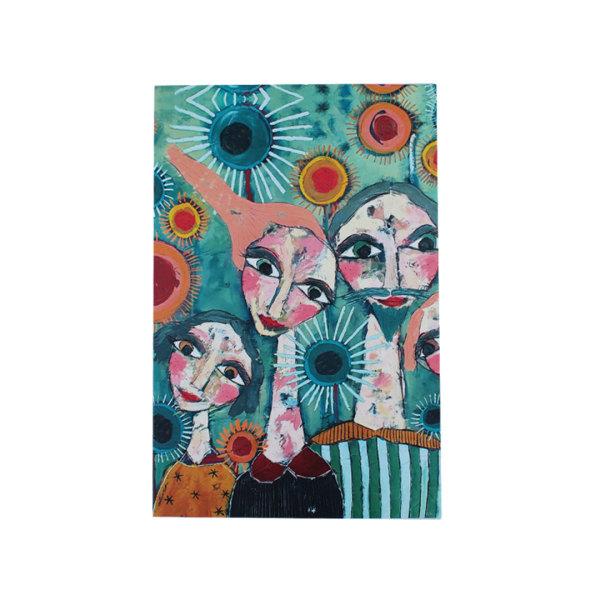 Art de Olivia - A5 Notepad (Florals & Ladies)
