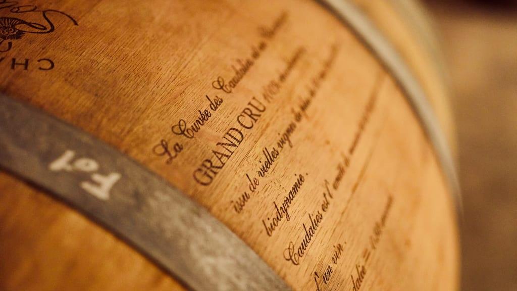 Aging in oak barrels can impart tannins in wine.