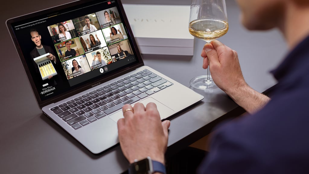 Vivant virtual wine tasting experiences