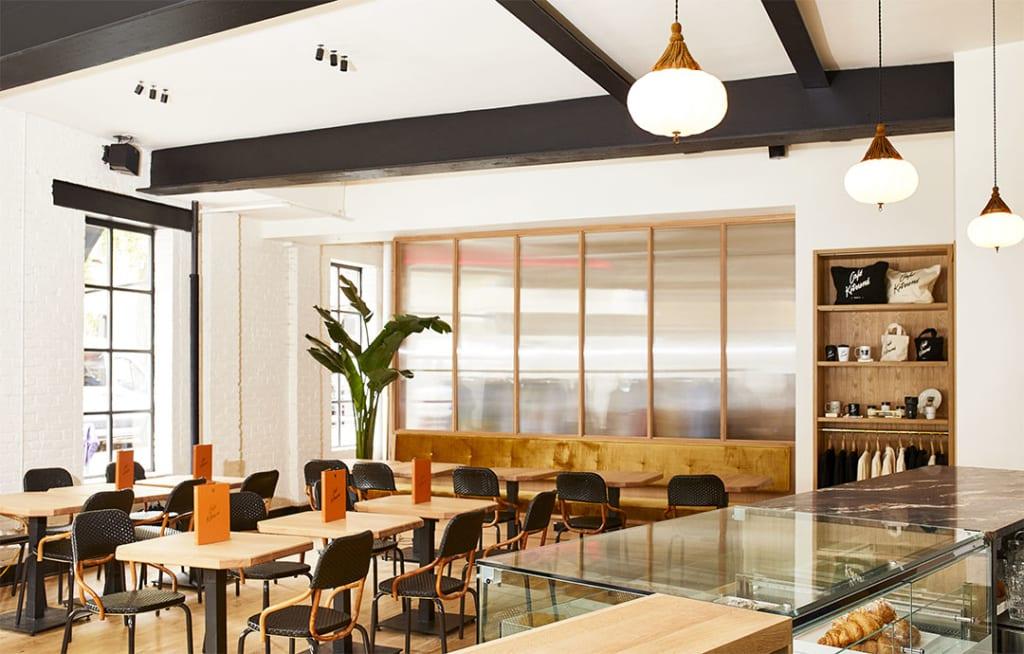 Cafe Kitsune serves biodynamic wine in NYC's West Village.