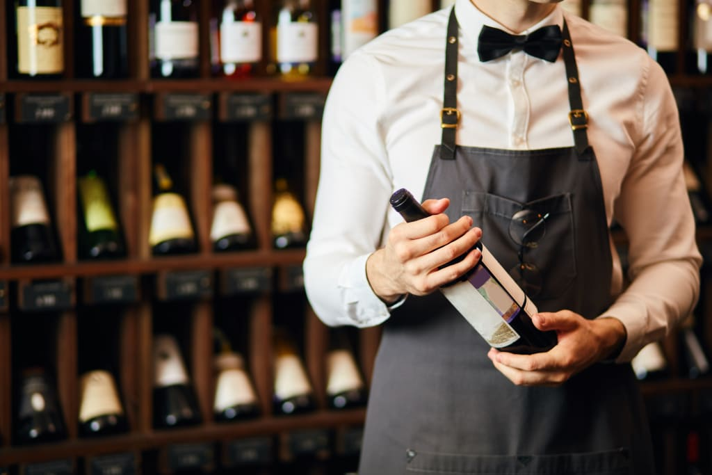 A sommelier can help you decode a restaurant wine list.