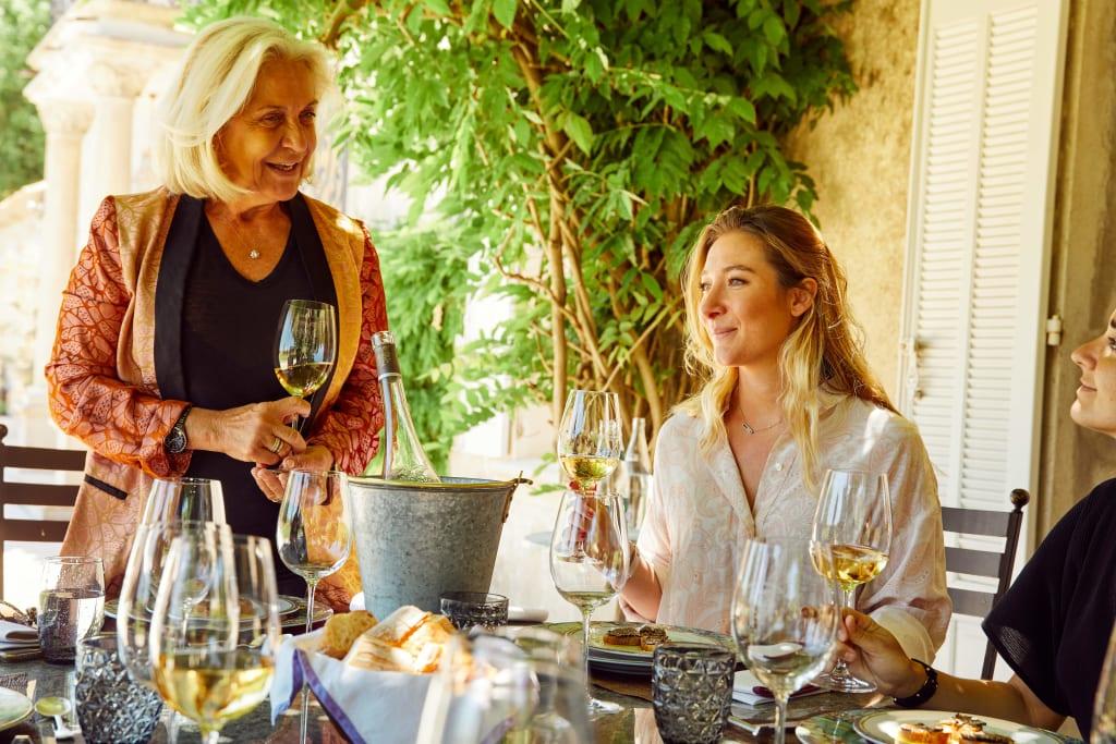 Entertaining calls for summer wine.