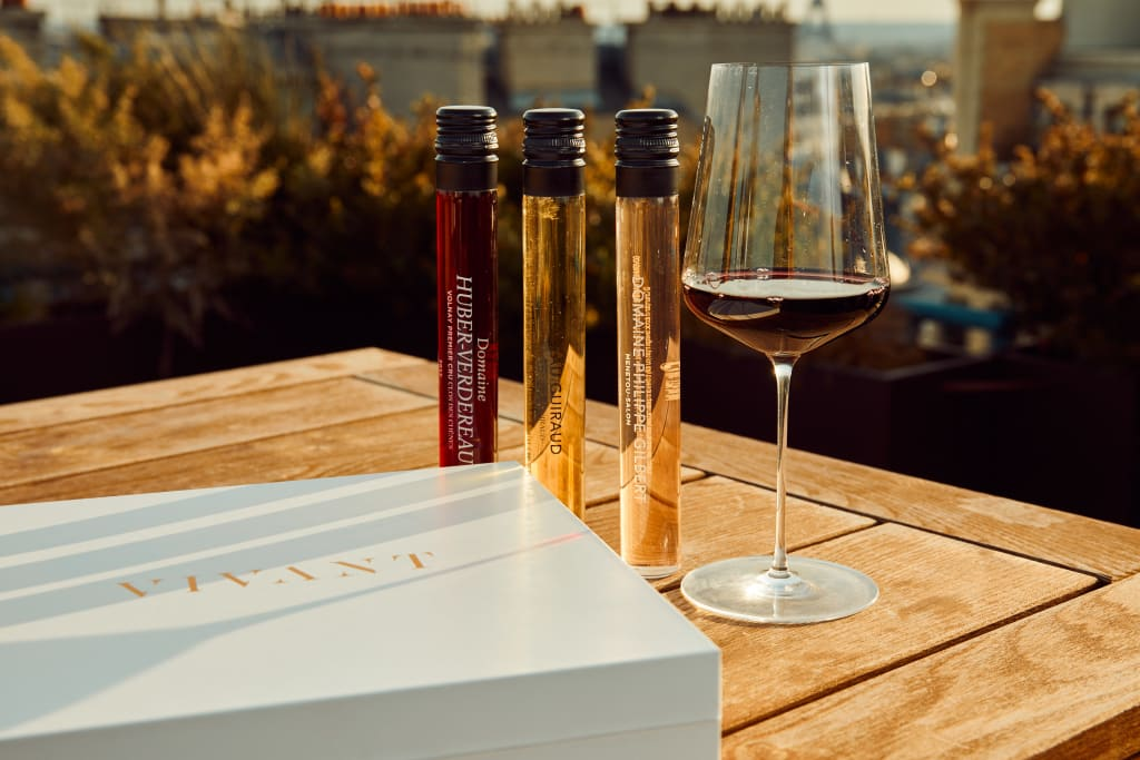 VIVANT Tasting Kits are an example of sustainable packaging.