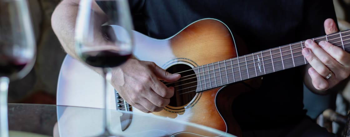 The Connection Between Music and Wine
