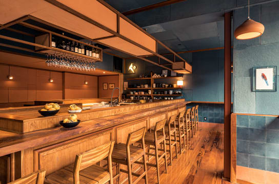 Rosella is a sushi restaurant serving biodynamic wine.