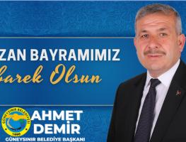 Belediye Başkanımız Ahmet Demir