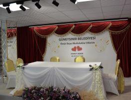 Güneysınır Belediyesi'nin yeni nikah salonu