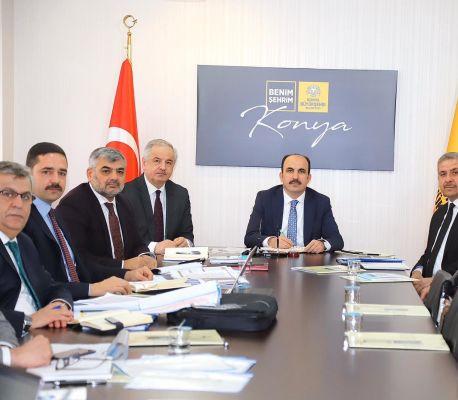 Konya Büyükşehir Belediyesinde Güneysınır Toplantısı