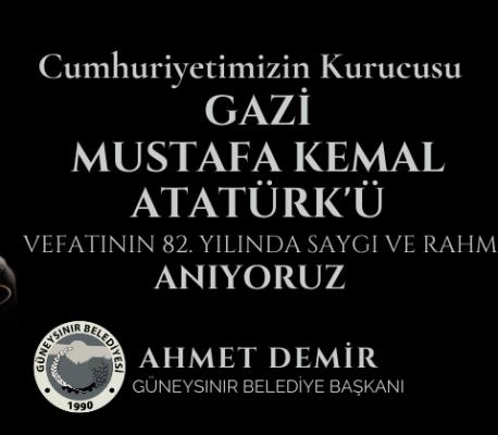 Belediye Başkanı Ahmet Demir