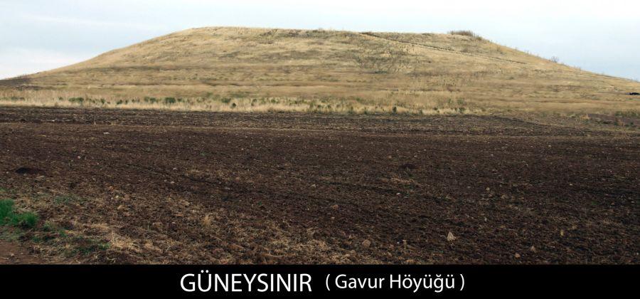 Gaffur Höyüğü - Karasınır, Güneysınır, Konya