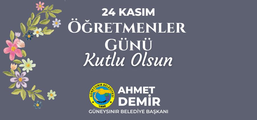 Başkan Ahmet Demir
