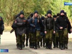 Пермские школьники проходят курс молодого бойца