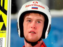 Заслуженное серебро: пермяк Евгений Климов занял второе место на «Гран При» по прыжкам на лыжах с трамплина