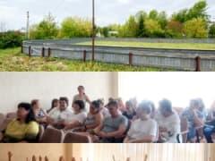 Спорт в деревне Тёплая Кунгурского округа - и летом, и зимой