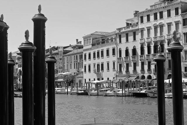 Venice Black and White Photo