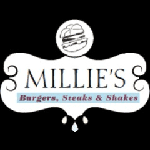 Millie's Burgers, Steaks & Shakes delivery options