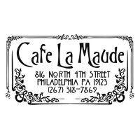 Cafe La Maude Logo