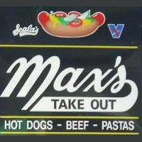 Max's Take Out Logo