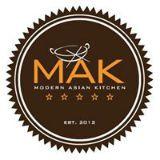 MAK (Modern Asian Kitchen) Logo