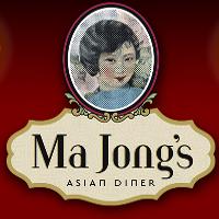 Ma Jong's Asian Diner Logo