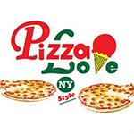 Pizza Love - Montrose Blvd. Logo