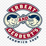 Erbert and Gerbert's Sandwich Shop Logo