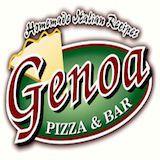 Genoa Pizza and Bar Logo