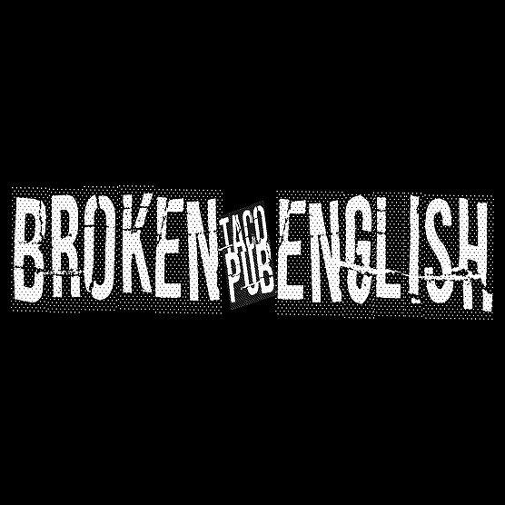Broken English Taco Pub Loop Logo