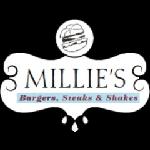 Millie's Burgers, Steaks & Shakes Logo