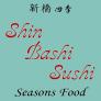 Shinbashi Sushi Seasons Food Logo