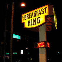 The Breakfast King Logo