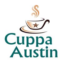 Cuppa Austin Coffee Shop Logo