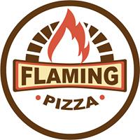 Flaming Pizza Logo