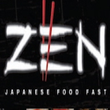 Zen Japanese Food Fast Logo