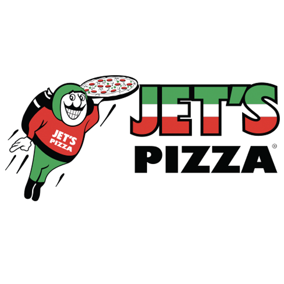 Jet's Pizza (Superior & Wells) Logo