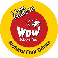 Wow Bubble Tea Logo