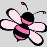 Pink Bee Logo