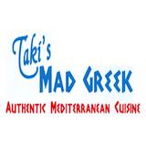 Taki's Mad Greek Logo