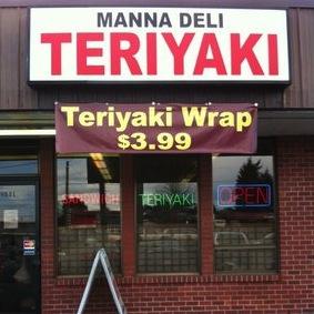 Manna Deli & Teriyaki Logo