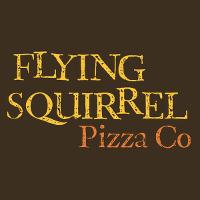 Flying Squirrel Pizza Logo