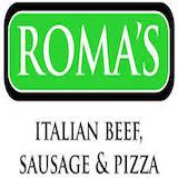 Roma's Italian Beef & Sausage Logo