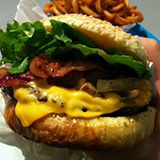 A Burger Place Logo
