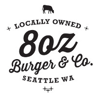 8 oz. Burger & Co. (Capitol Hill) Logo