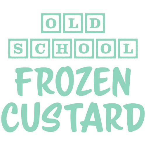 Old School Frozen Custard Logo