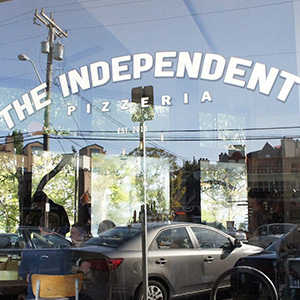 The Independent Pizzeria Logo