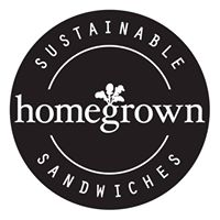 Homegrown Sustainable Sandwich Shop Logo
