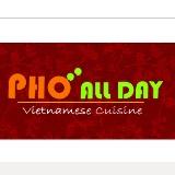 Pho All Day Vietnamese Cuisine Logo